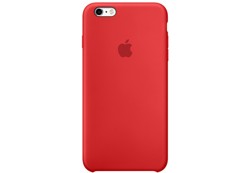 Чехол Apple Silicone Case для iPhone 6s Plus (PRODUCT)RED красный MKXM2ZM/A