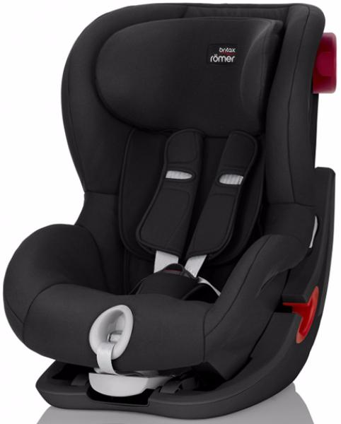 Детское автокресло BRITAX ROMER King II 9-18 кг Black Series Cosmos Black Trendline