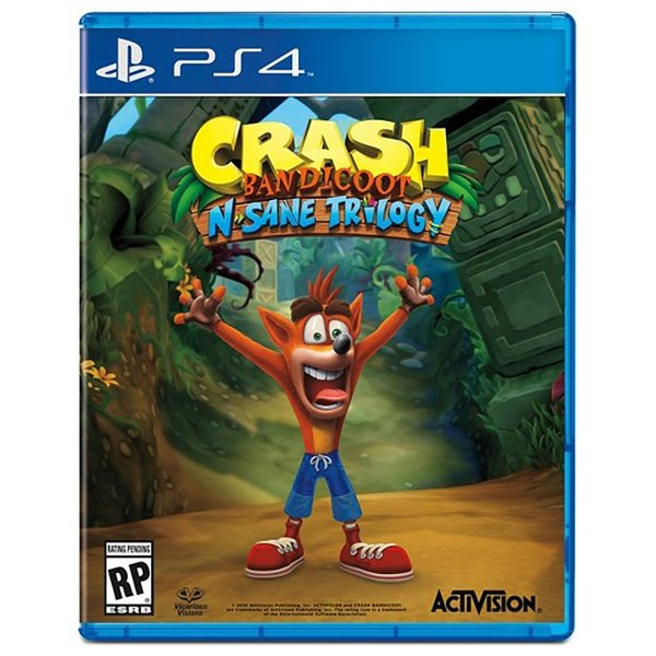 Crash Bandicoot N'sane Trilogy [PS4 английская версия]