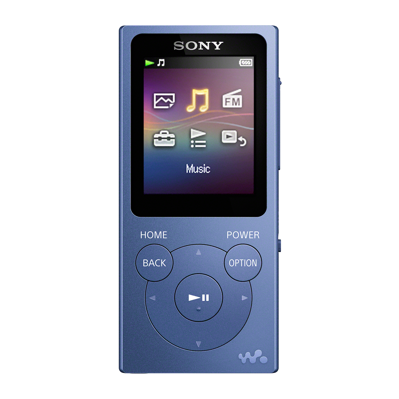 MP3-плеер Sony Walkman NW-E394 Синий