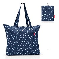 Купить Reisenthel Сумка складная Reisenthel mini maxi travelshopper spots navy в каталоге интернет магазина на Avshop.RU, отзывы, фотографии