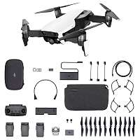 Купить DJI Квадрокоптер DJI MAVIC AIR Fly More Combo (EU) Arctic White, Белый в каталоге интернет магазина на Avshop.RU, отзывы, фотографии