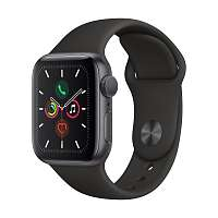APPLE Смарт-часы Apple Watch S5 40mm Space Grey Aluminium Case with Black Sport Band