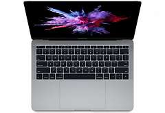 "Ноутбук Apple MacBook Pro 13"" Core i5 2,3 ГГц, 8 ГБ, 128 ГБ SSD, Iris 640 серый космос MPXQ2RU/A"