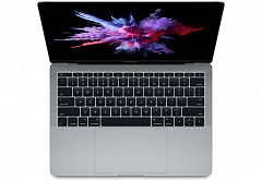 "Ноутбук Apple MacBook Pro 13"" Core i5 2,3 ГГц, 8 ГБ, 256 ГБ SSD, Iris 640 серый космос MPXT2RU/A"