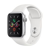 Купить APPLE APPLE Смарт-часы Apple Watch S5 40mm Silver Aluminium Case with White Sport Band в каталоге интернет магазина на Avshop.RU, отзывы, фотографии