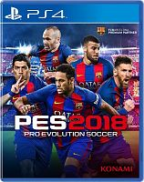 Купить SONY Pro Evolution Soccer 2018 [PS4 русская версия] в каталоге интернет магазина на Avshop.RU, отзывы, фотографии